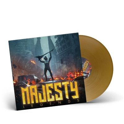 MAJESTY-Legends/Limited Edition GOLD Vinyl Gatefold LP