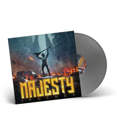 MAJESTY-Legends/Limited Edition SILVER Vinyl Gatefold LP