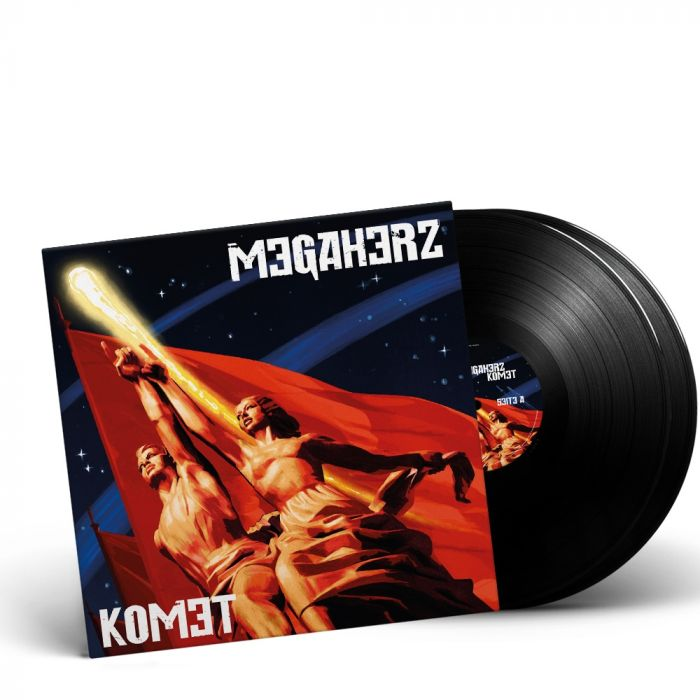 MEGAHERZ-Komet/Limited Edition BLACK Vinyl Gatefold 2LP