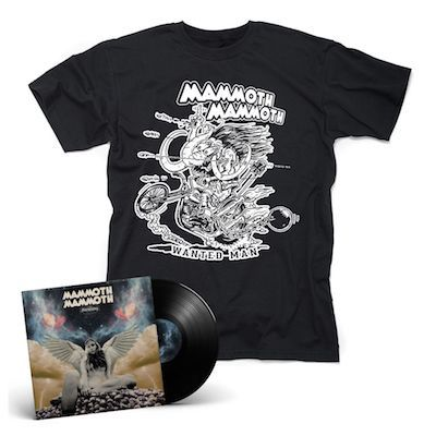 MAMMOTH MAMMOTH - Kreuzung / BLACK LP Gatefold + T- Shirt Bundle