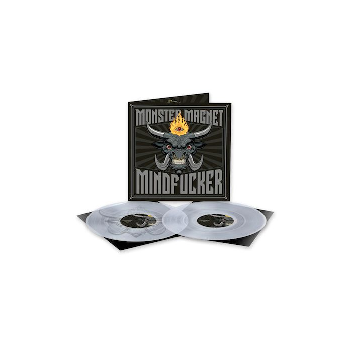 MONSTER MAGNET - Mindfucker / LIMITED EDITION CLEAR 2LP PRE-ORDER RELEASE DATE 7/9/21