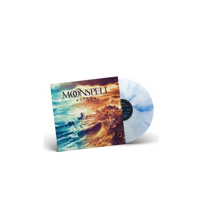 MOONSPELL - 1755 / LIMITED EDITION WHITE BLUE MARBLE LP