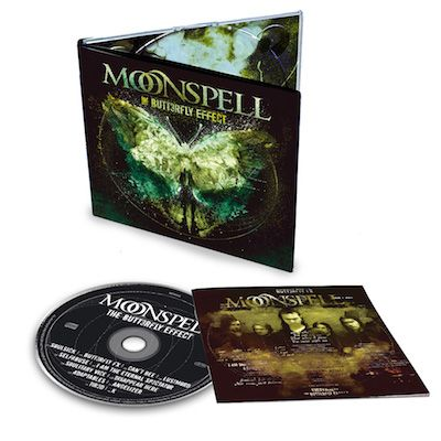 MOONSPELL - The Butterfly Effect / Digipak CD