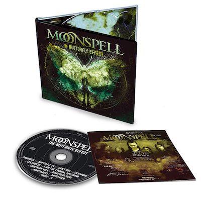MOONSPELL - The Butterfly Effect / Digipak CD