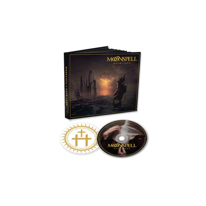 MOONSPELL - Hermitage / MEDIABOOK CD W/ STICKER