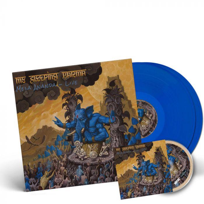 MY SLEEPING KARMA-Mela Ananda - Live/ Limited Edition BLUE Gatefold LP + DVD