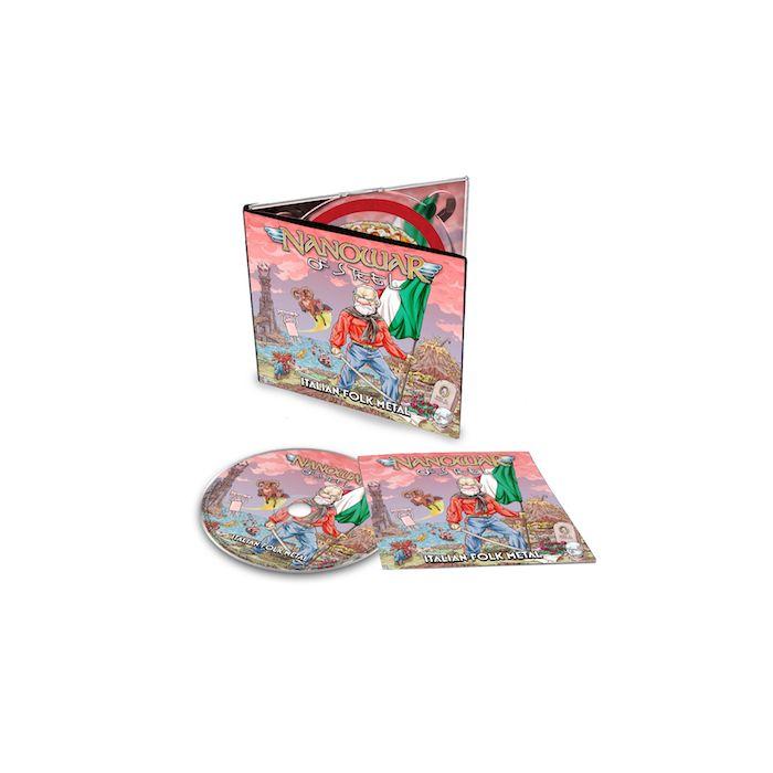NANOWAR OF STEEL - Italian Folk Metal / Digipak CD