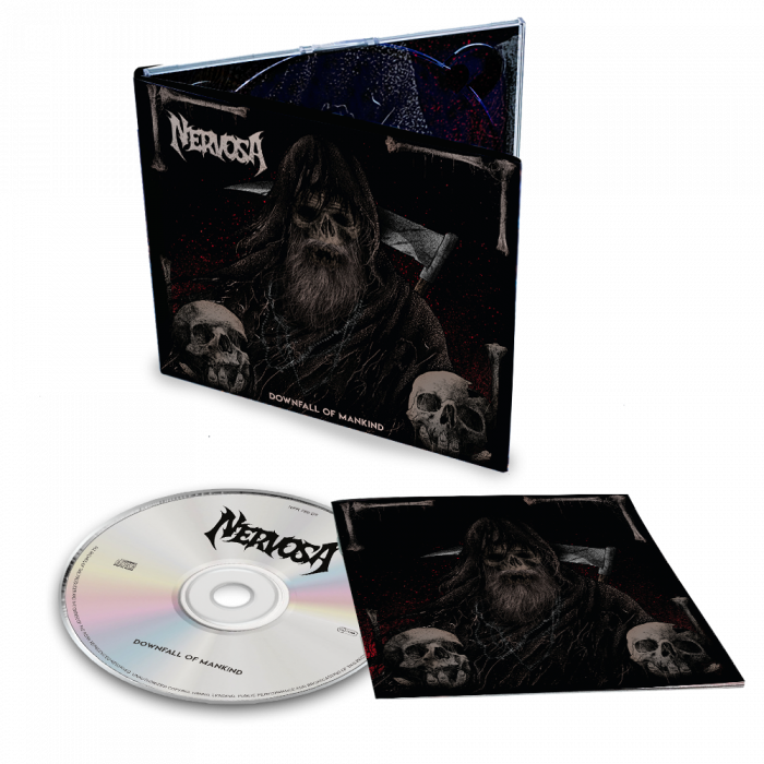 NERVOSA- Downfall Of Mankind/Limited Edition Digipack CD