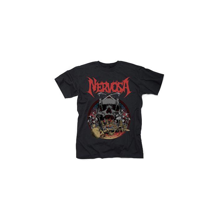 NERVOSA - King Of Domination / T-Shirt