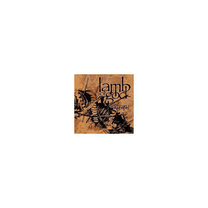 LAMB OF GOD-New American Gospel/Limited Edition Gatefold Vinyl LP