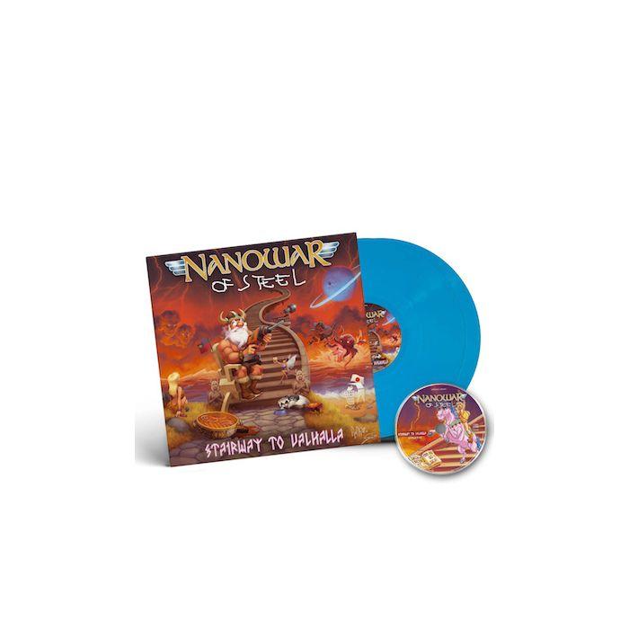 NANOWAR OF STEEL - Stairway to Valhalla / SKY BLUE 2LP + CD