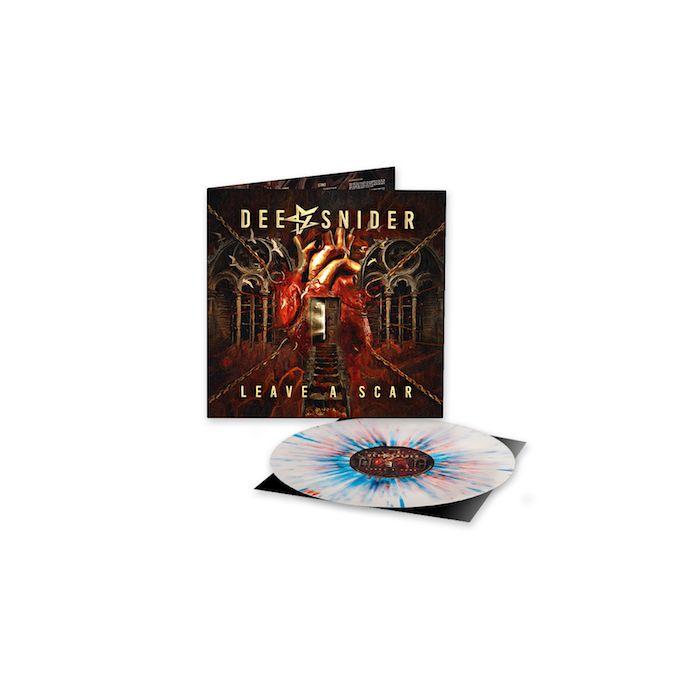 DEE SNIDER - Leave A Scar / LIMITED EDITION RED WHITE BLUE SPLATTER LP