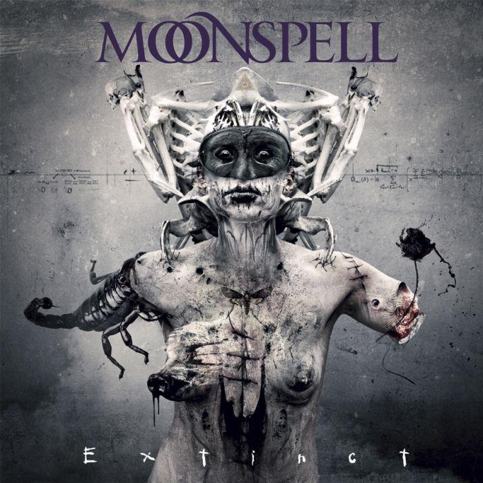 MOONSPELL - Extinct/Digipack Limited Edition CD/DVD