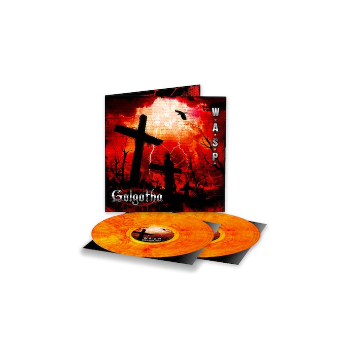 W.A.S.P. - Golgotha / LIMITED EDITION MARBLED YELLOW/RED 2LP