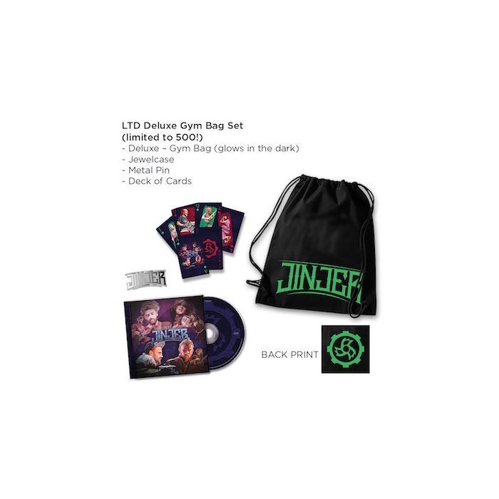 JINJER - Alive In Melbourne 2020 / LIMITED DELUXE GYM BAG EDITION