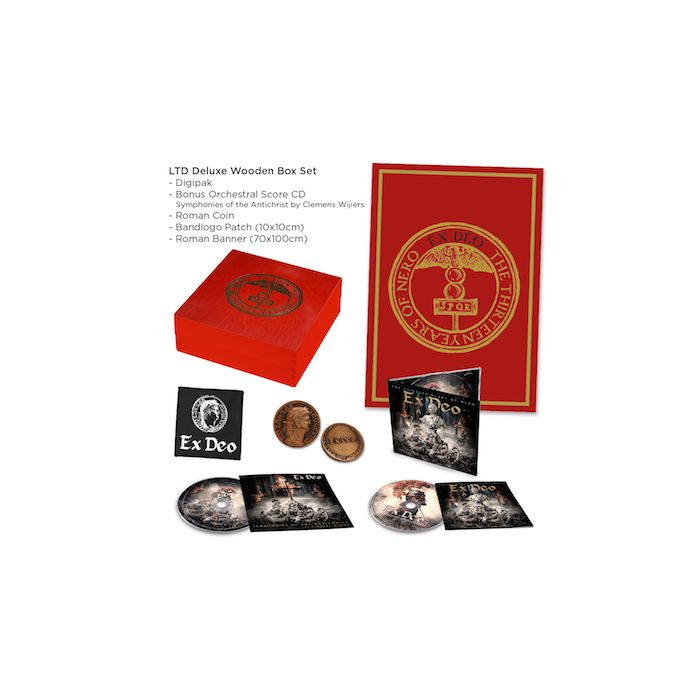 EX DEO - The Thirteen Years Of Nero / LIMITED EDITION DELUXE 2CD WOODEN BOXSET
