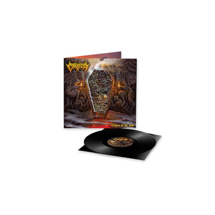 CRYPTA - Echoes Of The Soul / BLACK LP PRE-ORDER RELEASE DATE 6/11