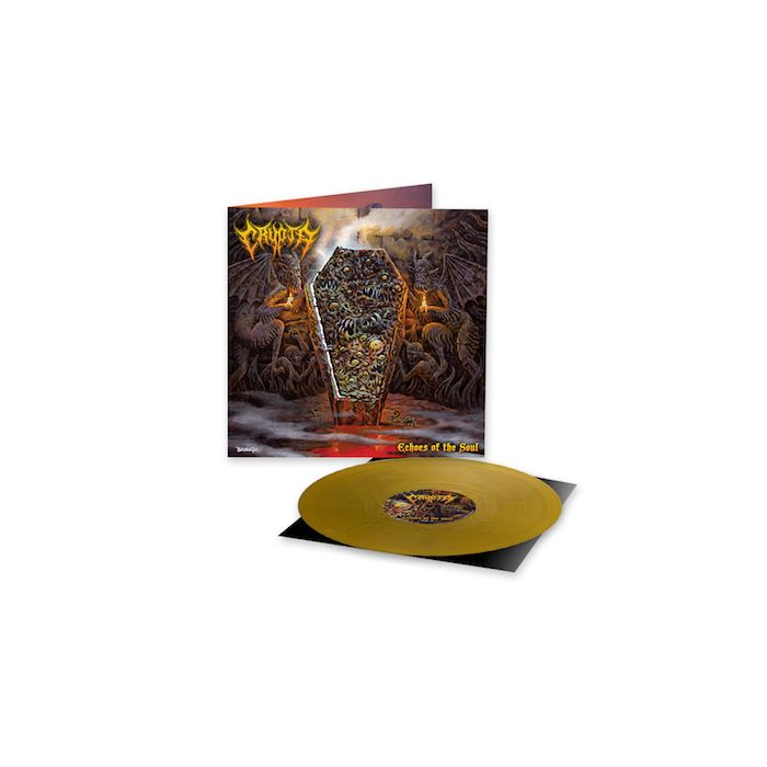 CRYPTA - Echoes Of The Soul / LIMITED EDITION ROSE GOLD LP PRE-ORDER RELEASE DATE 6/11