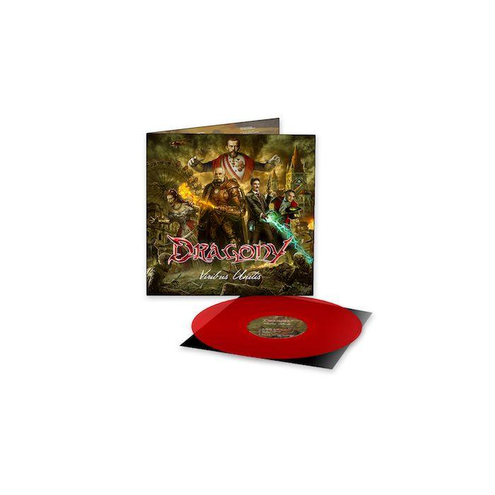 DRAGONY - Viribus Unitis / LIMITED EDITION RED LP