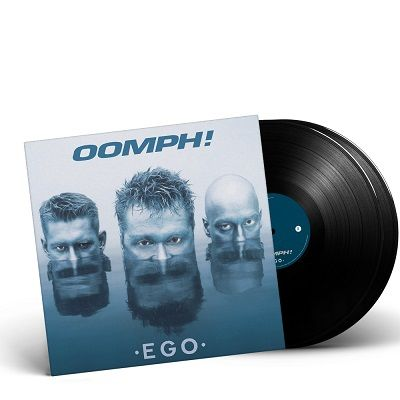 OOMPH!-Ego/Limited Edition BLACK Vinyl Gatefold 2LP
