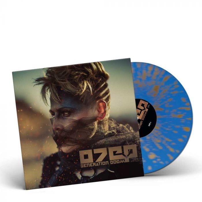OTEP-Generation Doom/Limited Edition BLUE GOLD Splattered Gatefold Vinyl LP