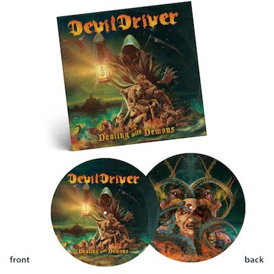 DEVILDRIVER - Dealing With Demons I / LIMITED EDITION PICTURE DISC LP