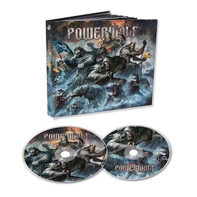 POWERWOLF - Best Of The Blessed / 2CD Mediabook