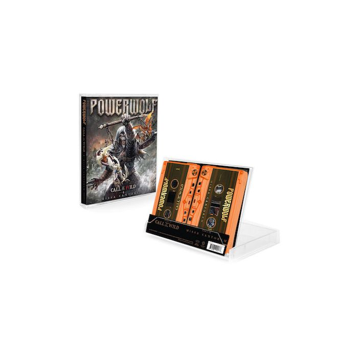 POWERWOLF - Call Of The Wild/Missa Cantorem / LIMITED EDITION ORANGE DOUBLE CASSETTE PRE-ORDER RELEASE DATE 7/16/21