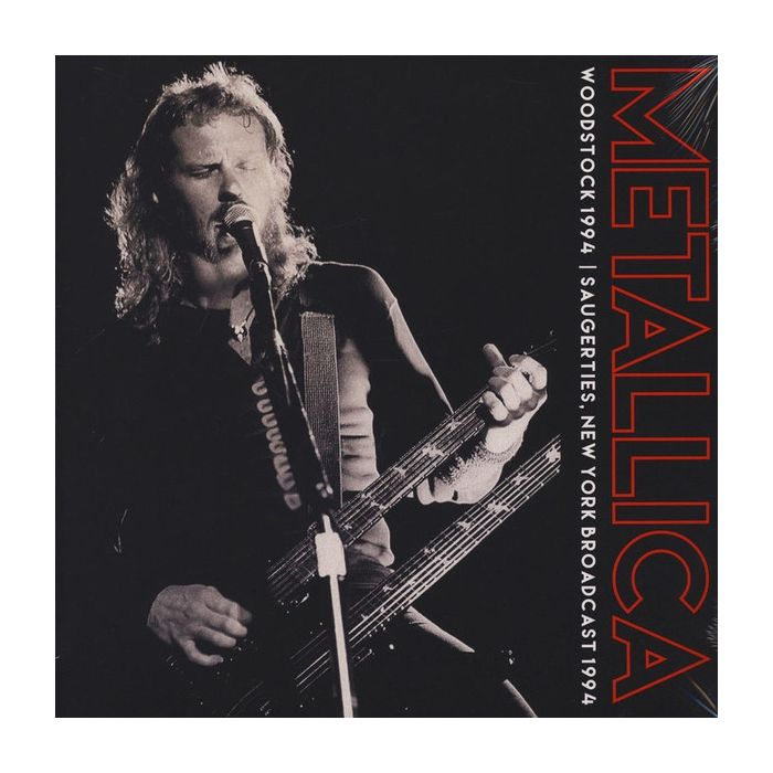 METALLICA - Woodstock 1994 / Import 2LP
