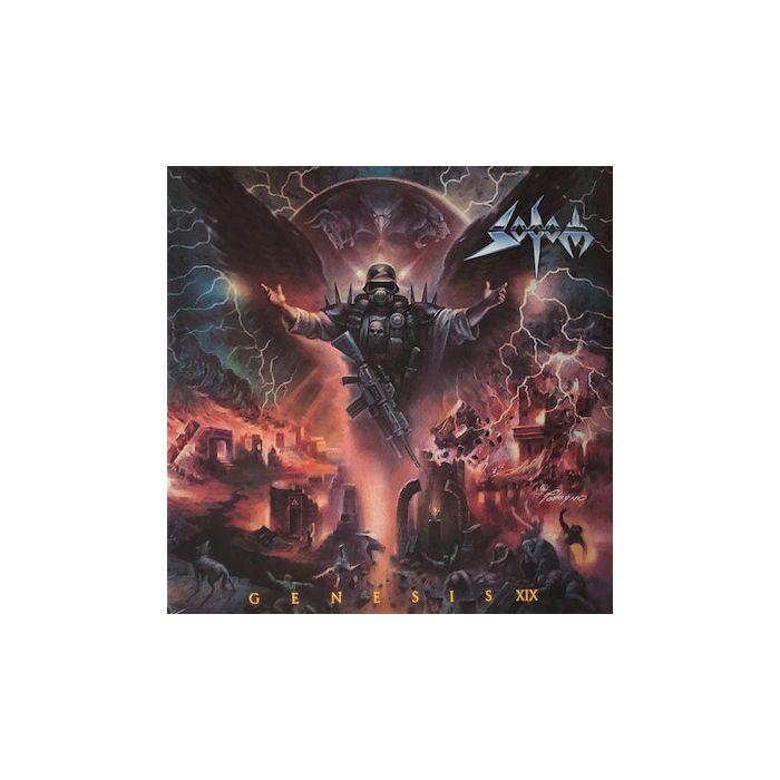 SODOM - Genesis XIX / NAPALM RECORDS EXCLUSIVE RED BLACK 2LP