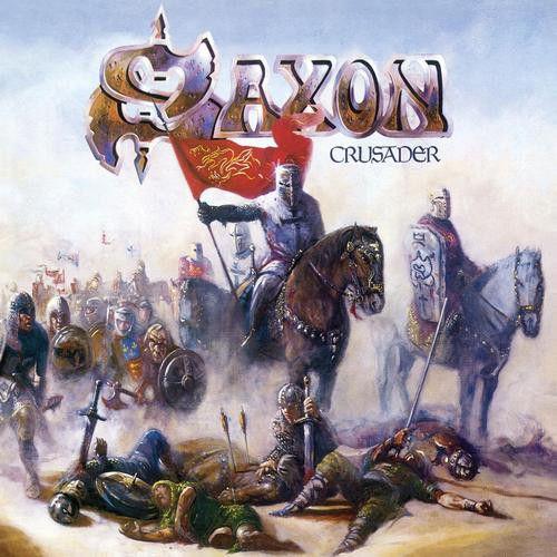 SAXON - Crusader / LP