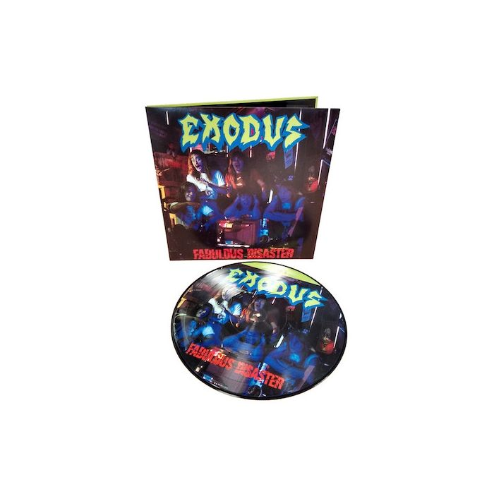 EXODUS - Fabulous Disaster / Import Picture Disc LP