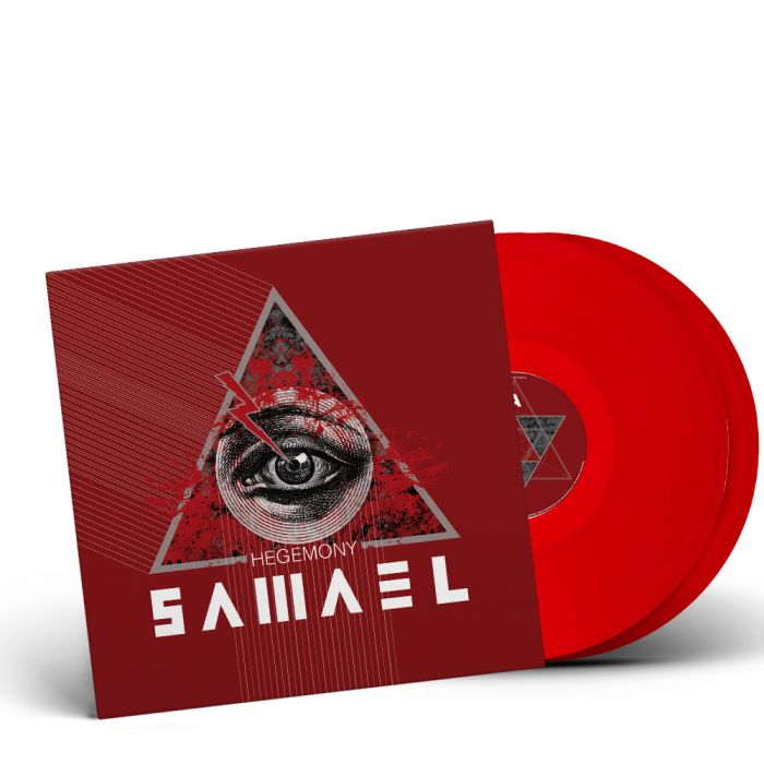 SAMAEL-Hegemony/Limited Edition RED Vinyl Gatefold 2LP