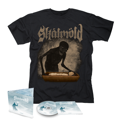 SKALMOLD- Sorgir/Limited Edition Digipack CD + Mara T-Shirt Bundle