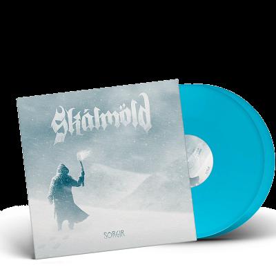 SKALMOLD- Sorgir/Limited Edition ICE BLUE Vinyl Gatefold 2LP