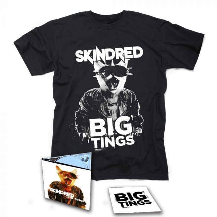 SKINDRED-Big Tings/Limited Edition Digipack CD + T-Shirt Bundle