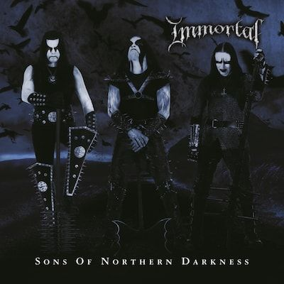 IMMORTAL - Sons Of Northern Darkness / Black & Blue LP