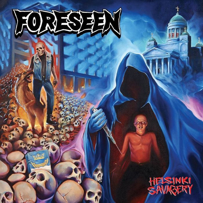 FORESEEN - Helsinki Savagery / Purple LP