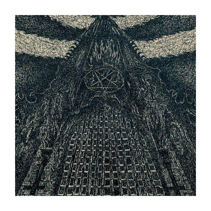 DAEVA - Pulsing Dark Absorptions / Bone with Black Splatter 12