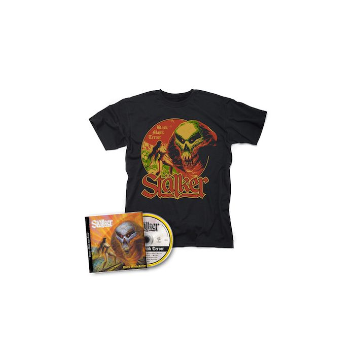 STALKER - Black Majik Terror / CD + T-Shirt Bundle