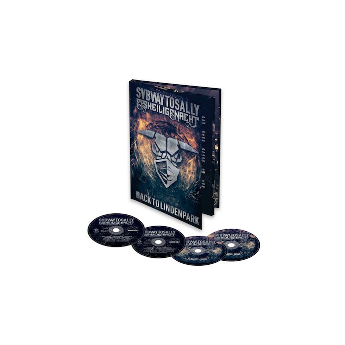 SUBWAY TO SALLY - Eisheilige Nacht - Back to Lindenpark / A5 2CD + DVD + BluRay Mediabook