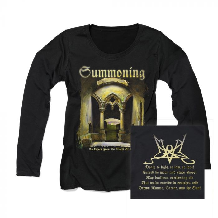 SUMMONING-As Echoes From The World Of Old/GIRLS Long Sleeve T-Shirt