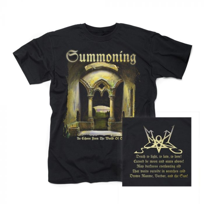 SUMMONING-As Echoes From The World Of Old/T-Shirt