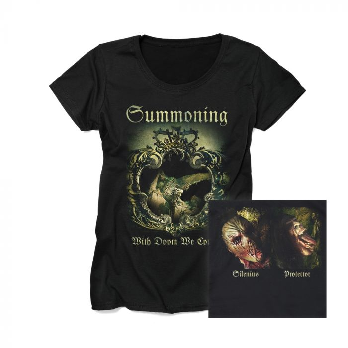 SUMMONING-With Doom We Come/GIRLS T-Shirt