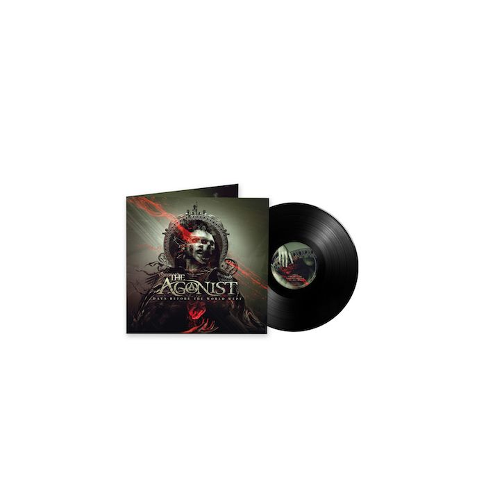 THE AGONIST -  Days Before The World Wept / BLACK 12 INCH EP PRE ORDER RELEASE DATE 10/15/21