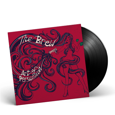 THE BREW- Art Of Persuasion/Limited Edition BLACK Vinyl Gatefold LP