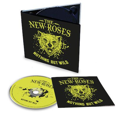 THE NEW ROSES - Nothing But Wild / Digipak CD