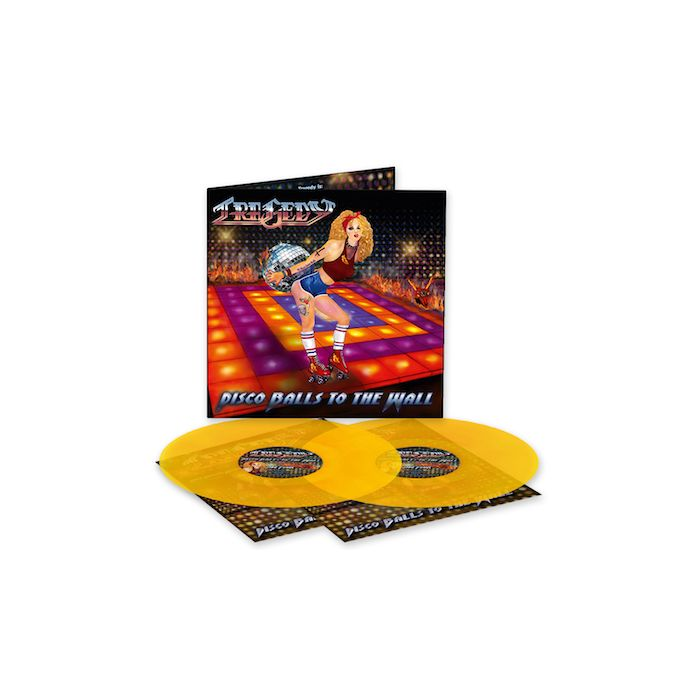 TRAGEDY - Disco Balls To The Wall / LIMITED EDITION ORANGE 2LP PRE-ORDER RELEASE DATE 7/30/21
