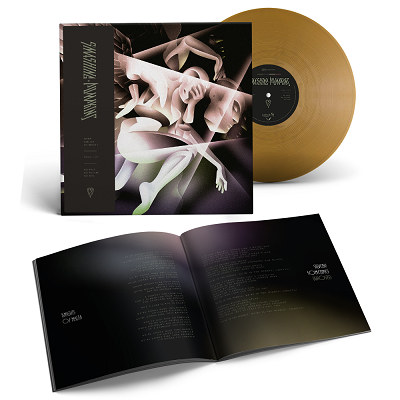 THE SMASHING PUMPKINS-SHINY AND OH SO BRIGHT, VOL. 1 / LP: NO PAST. NO FUTURE. NO SUN./Limited Edition GOLD Vinyl Gatefold LP