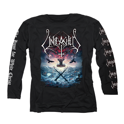 UNLEASHED- The Hunt For White Christ/Longsleeve T-Shirt